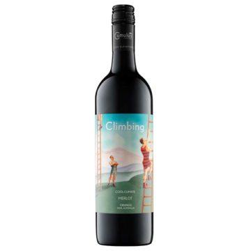 """Flasche Rotwein """"Climbing Merlot 2013"""""""