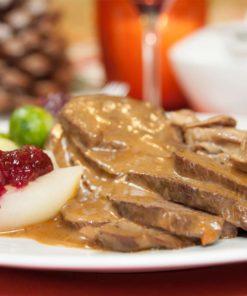 Weihnachtsessen 1 Weihnachtsfeiertag.Shop Für Gänsebraten Entenbraten Gourmetgänsebraten